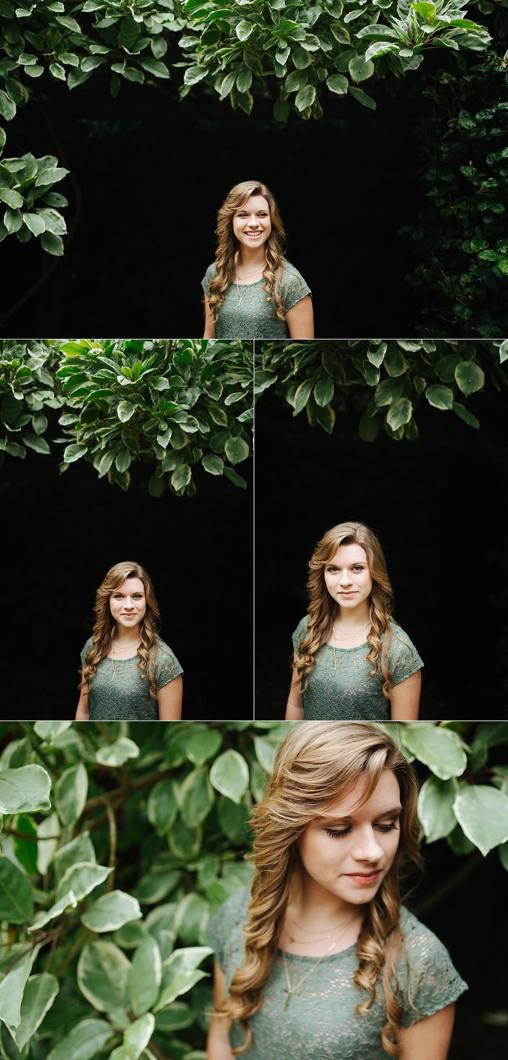 stpete senior portraits sunken gardens leah-1