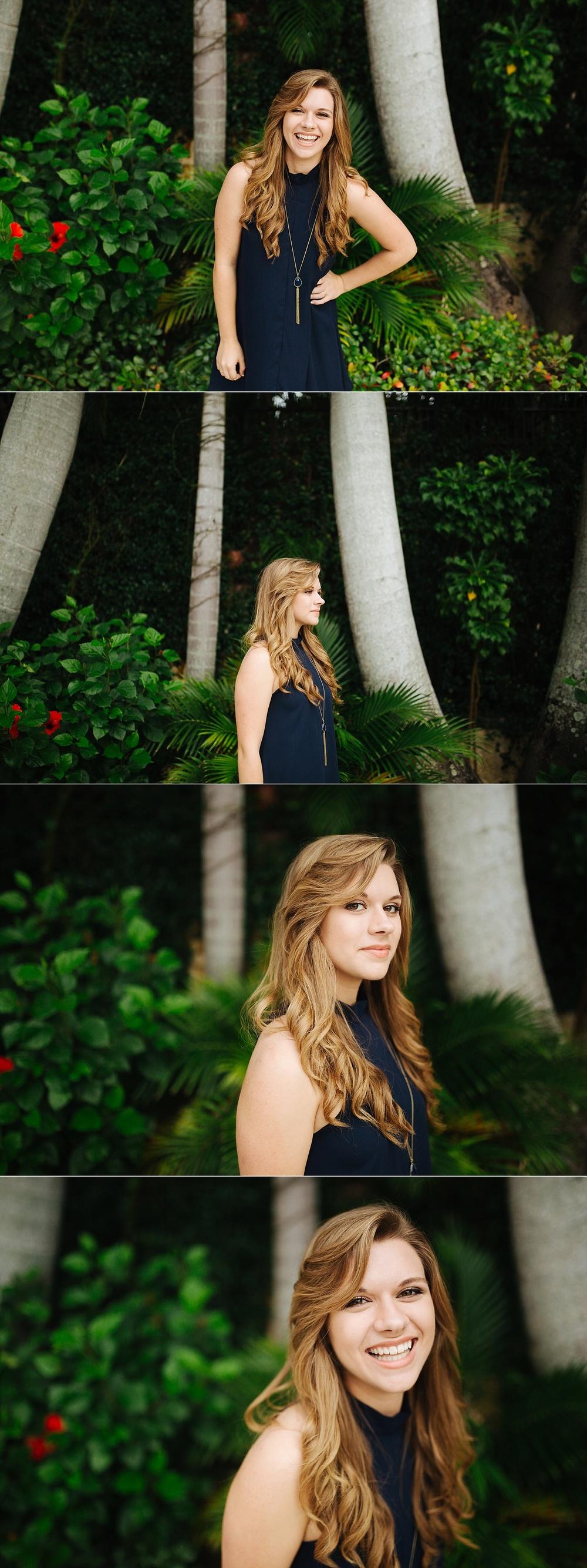 stpete senior portraits sunken gardens leah-16