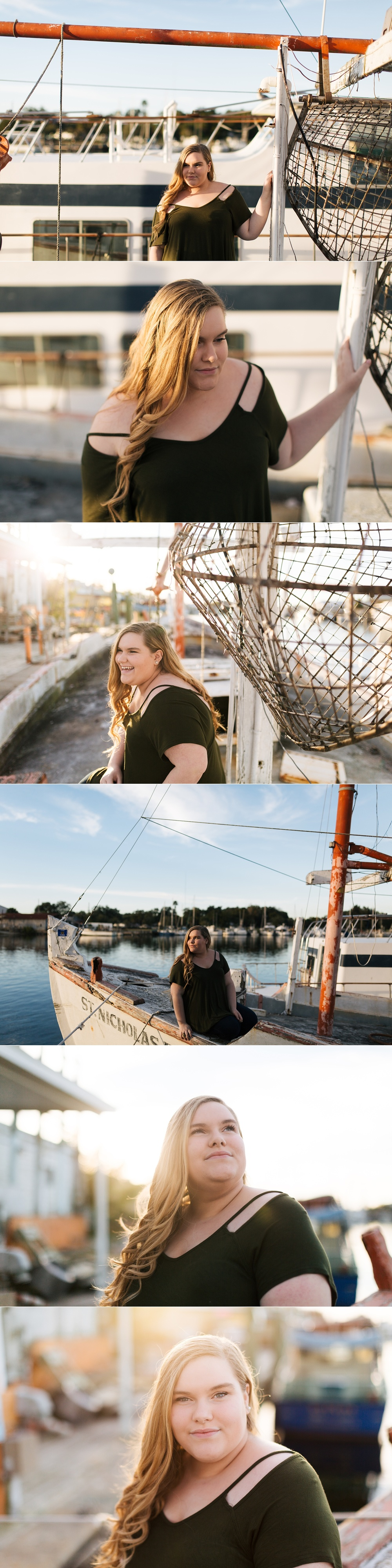 tarpon springs modern senior session haven-2