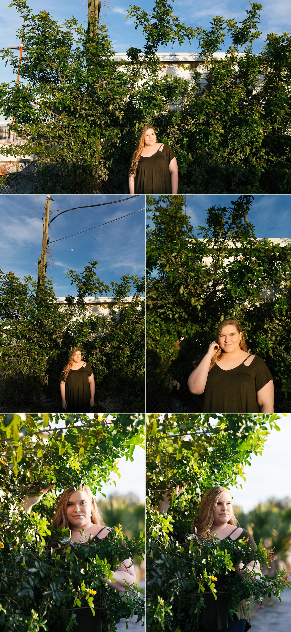 tarpon springs modern senior session haven-4