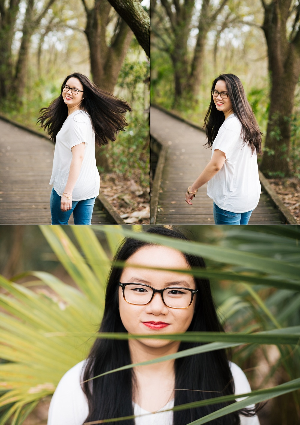 tampa bay nature woodsy senior portraits jade-4