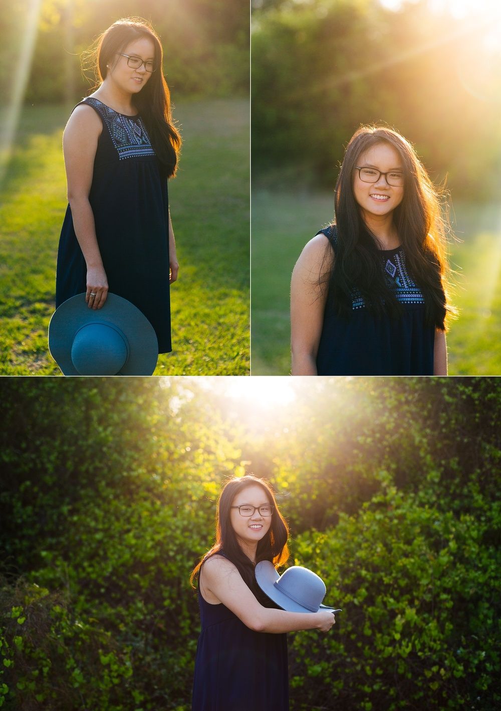tampa bay nature woodsy senior portraits jade-8