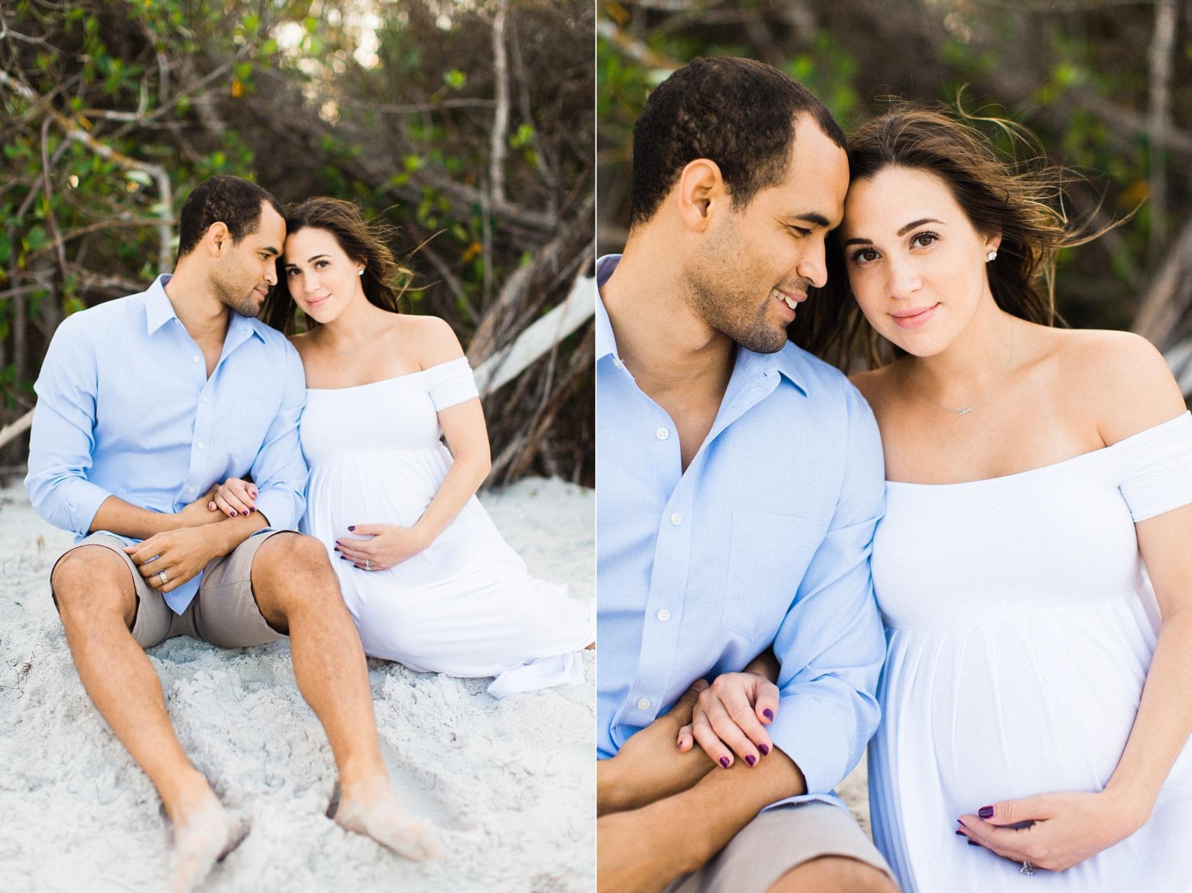 tampa bay longboat key maternity family session-8