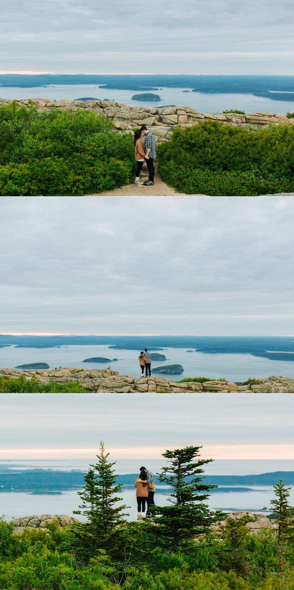 jake and jill acacdia national park engagement session cadillac mountain engagement session jordan pond engagement session maine engagement session jake and katie_0004