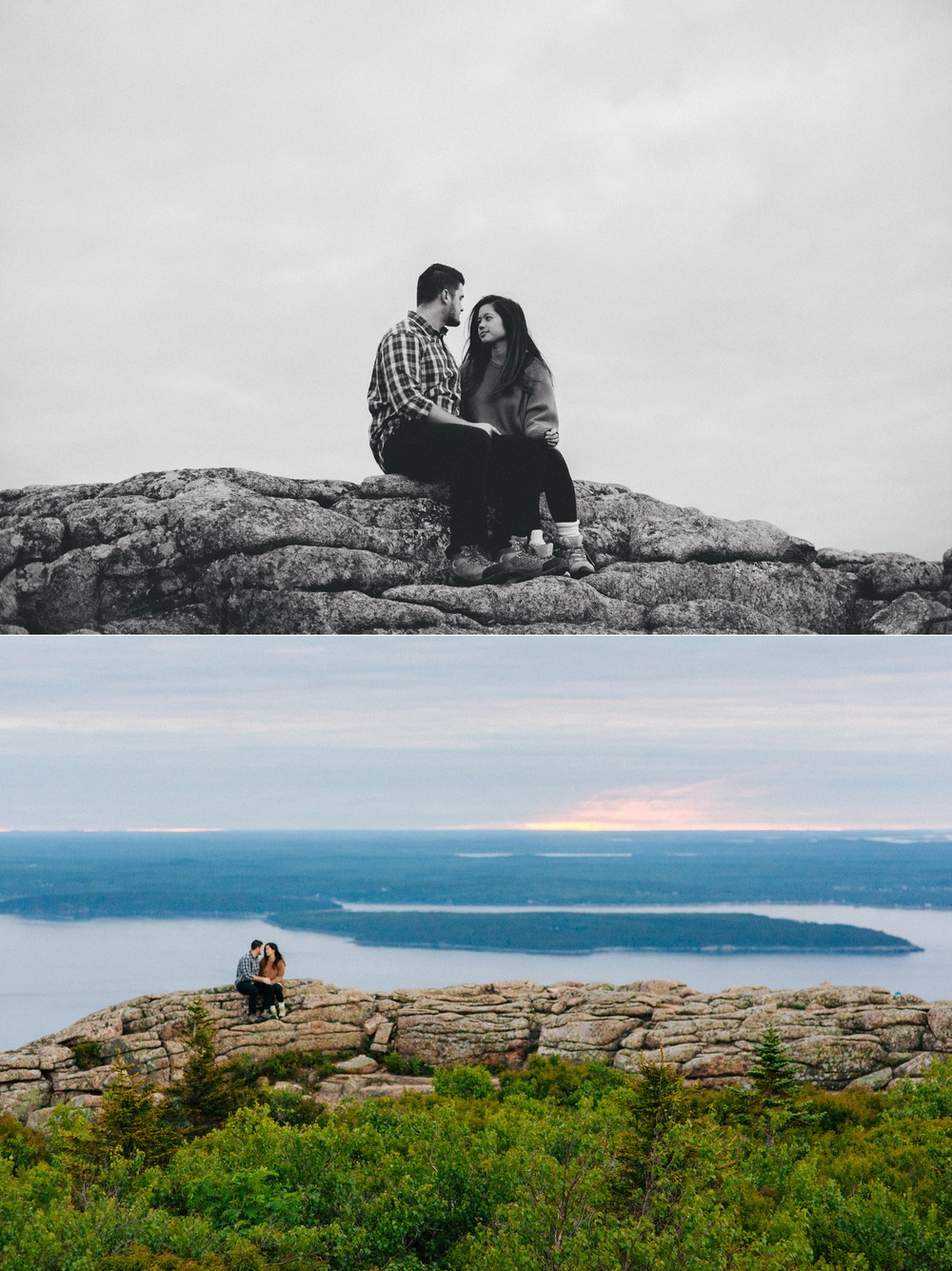 jake and jill acacdia national park engagement session cadillac mountain engagement session jordan pond engagement session maine engagement session jake and katie_0007