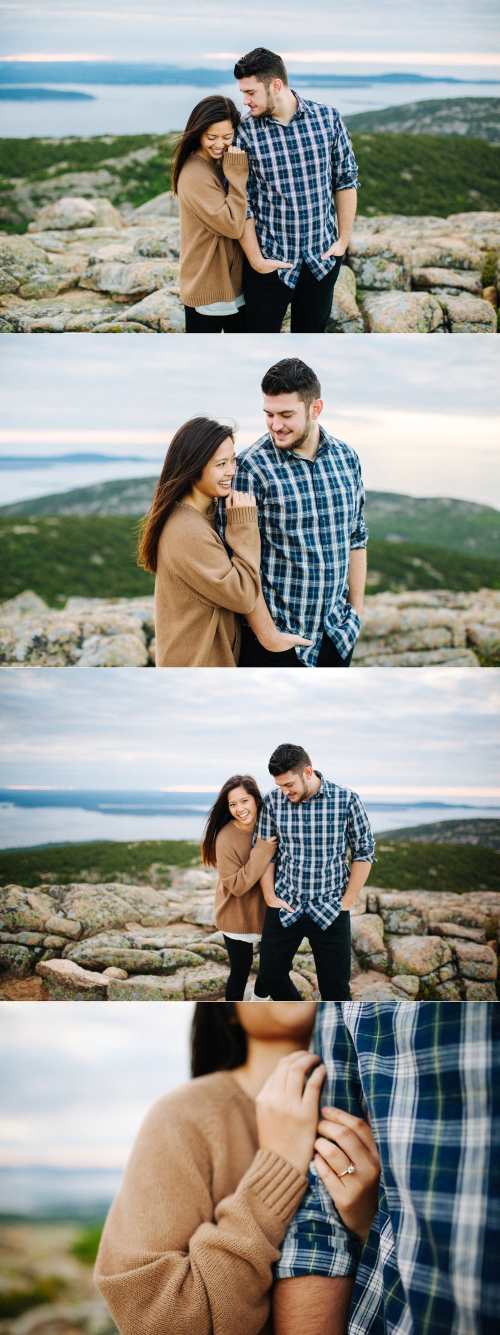 jake and jill acacdia national park engagement session cadillac mountain engagement session jordan pond engagement session maine engagement session jake and katie_0013