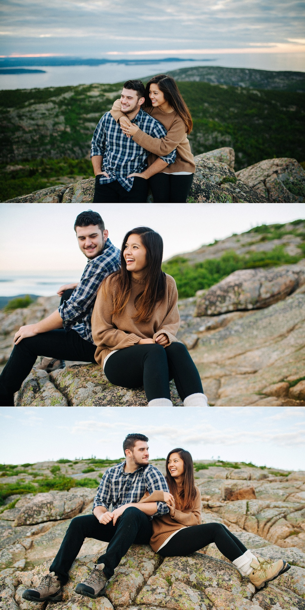 jake and jill acacdia national park engagement session cadillac mountain engagement session jordan pond engagement session maine engagement session jake and katie_0016