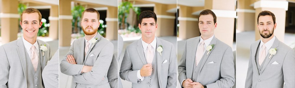 fun avila country club wedding: groomsmen photos