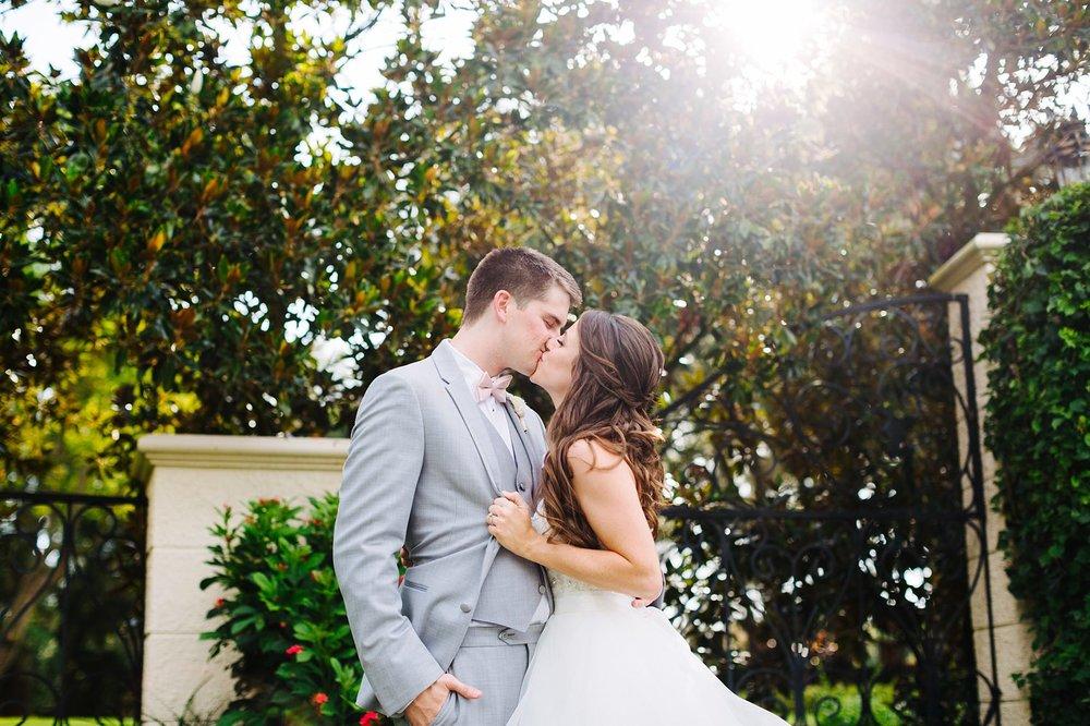 fun avila country club wedding: bride & groom portraits