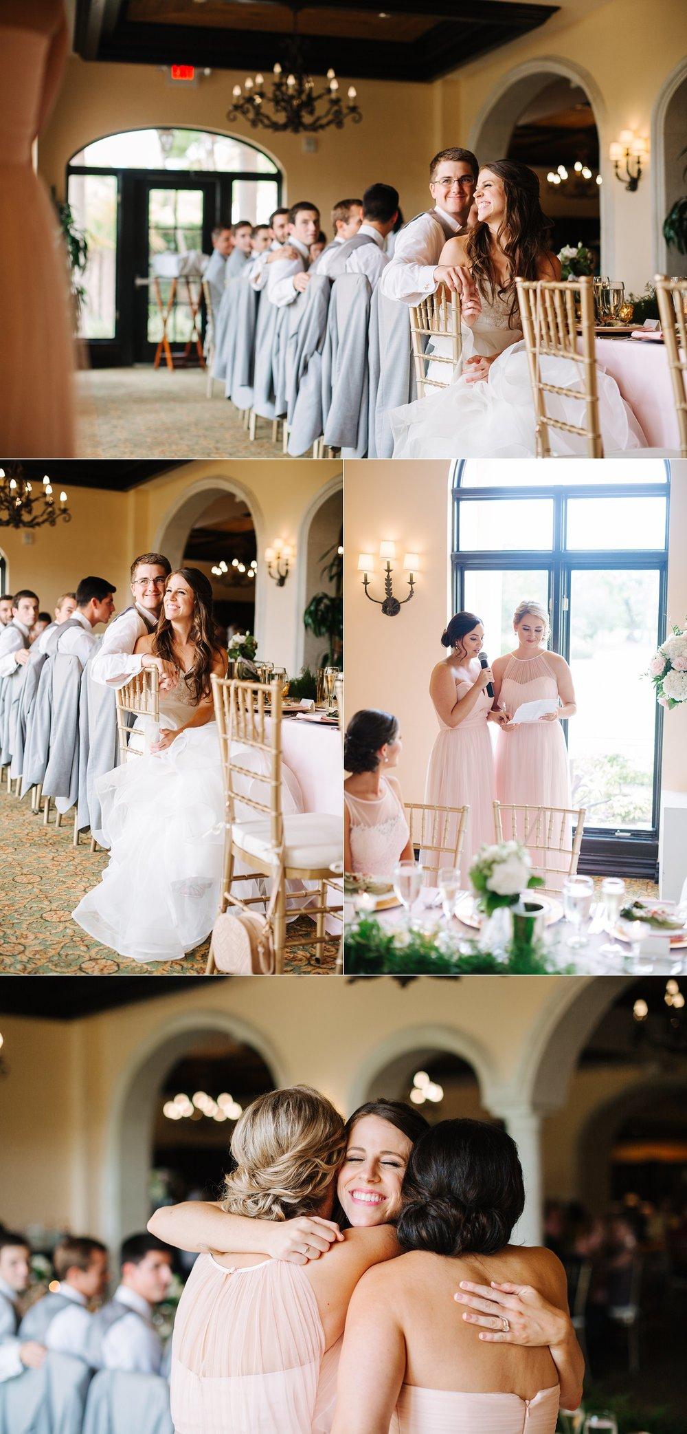 fun avila country club wedding
