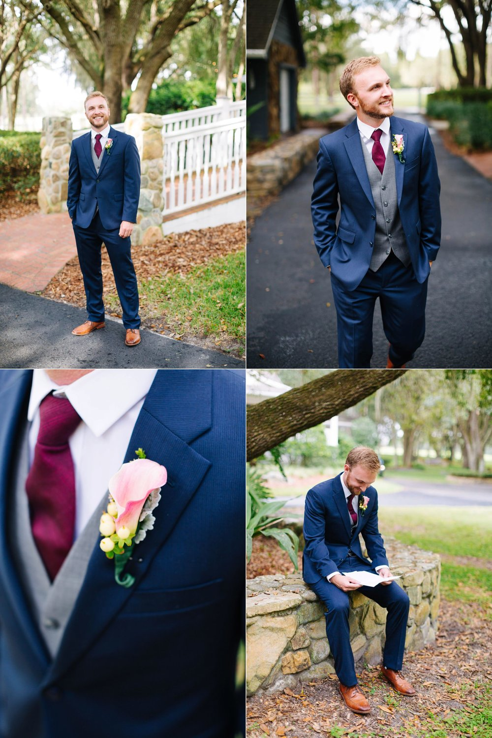 lange farm wedding: groom portraits