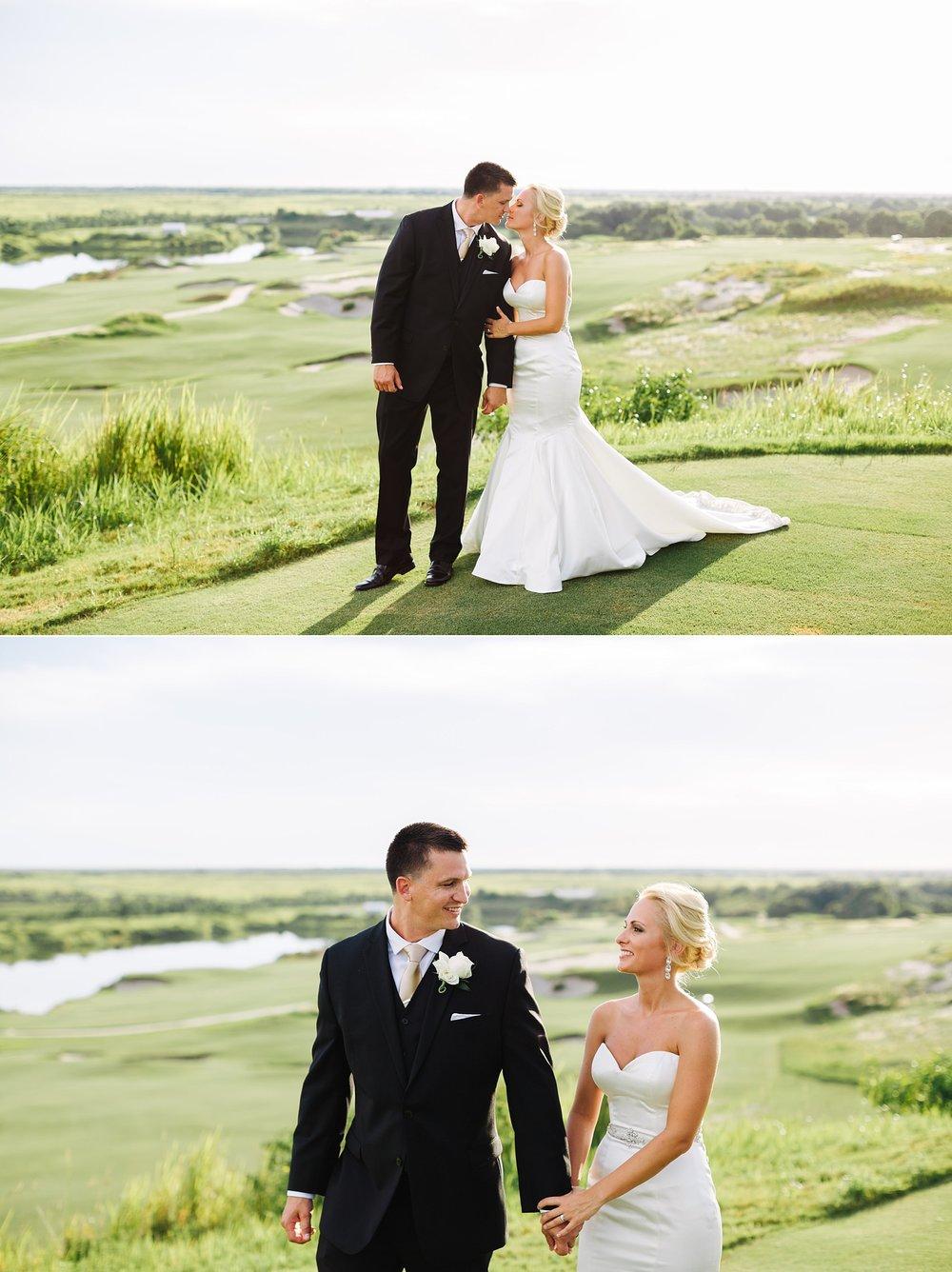 streamsong resort wedding: bride & groom portraits