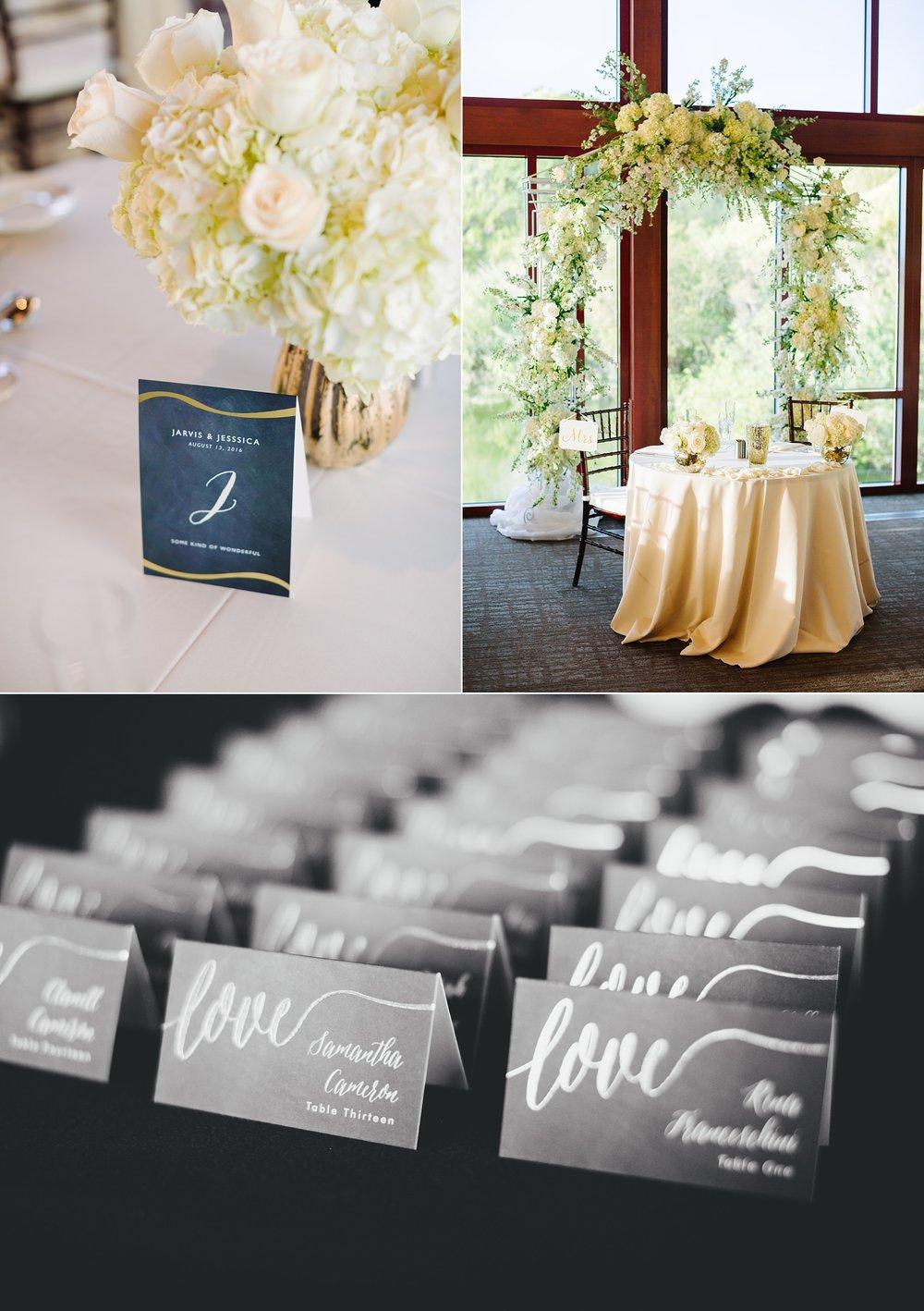 streamsong resort wedding: reception