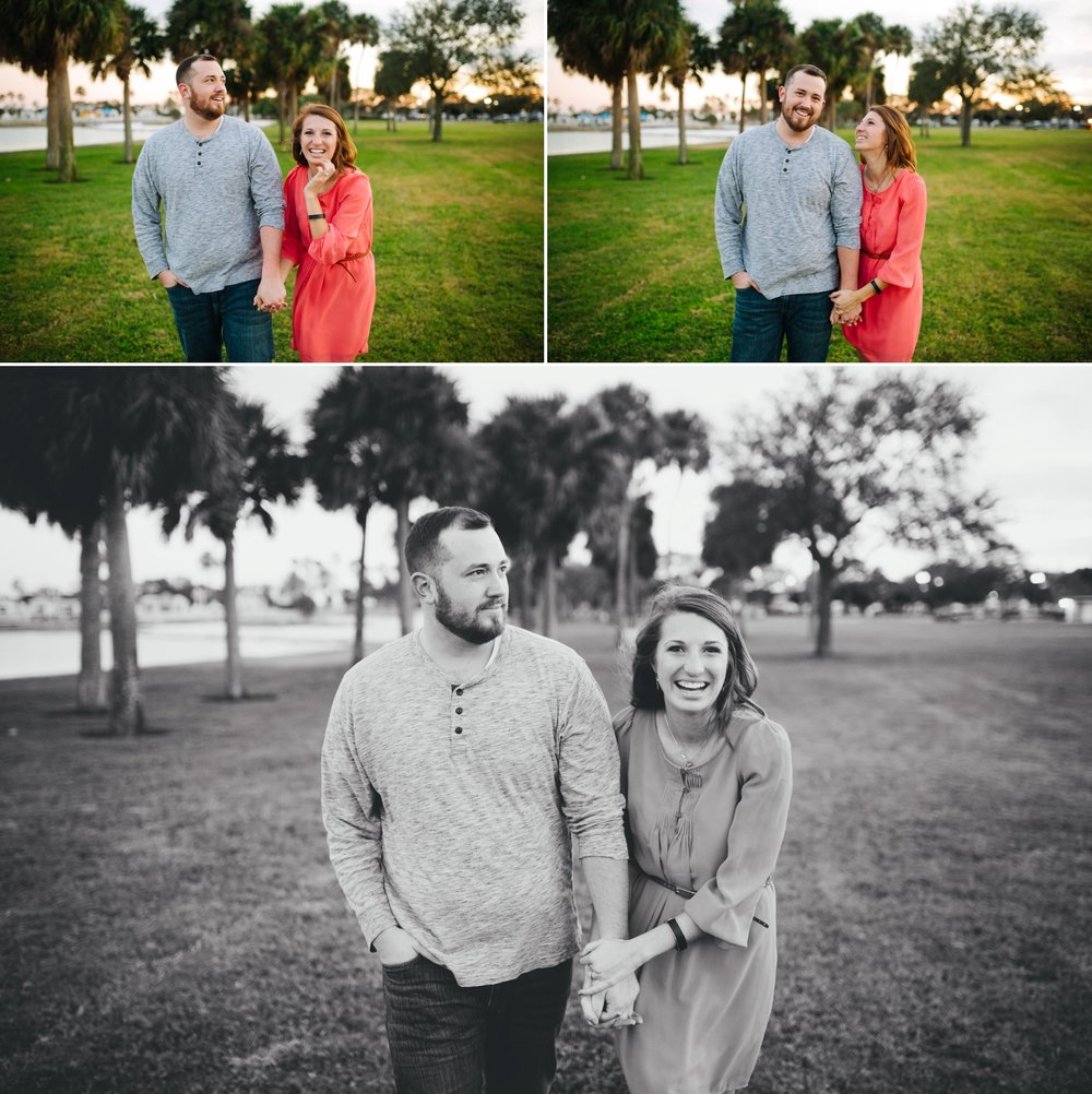 tampa engagement session jake and katie photography