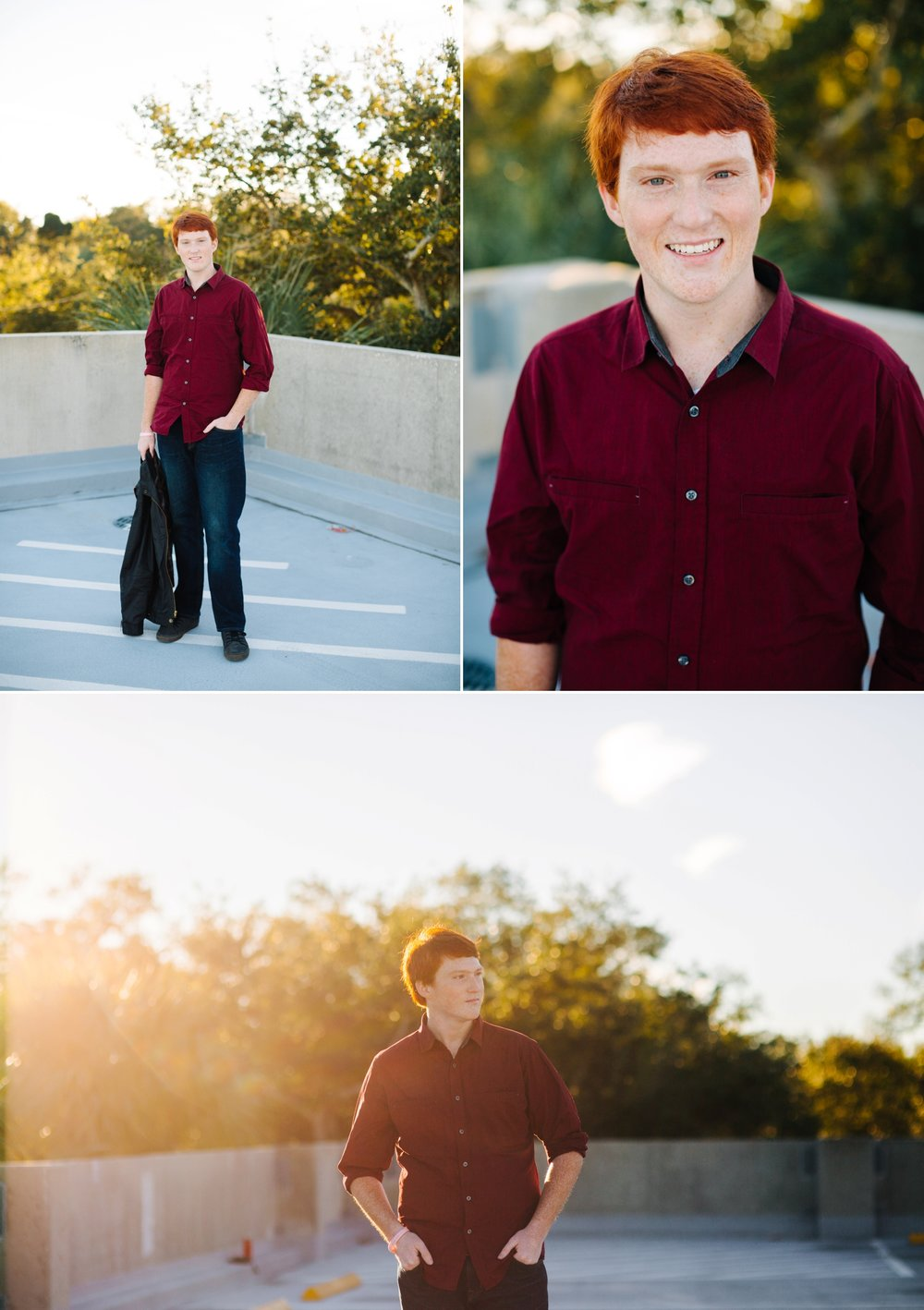 south tampa senior photo session jake and katie photography