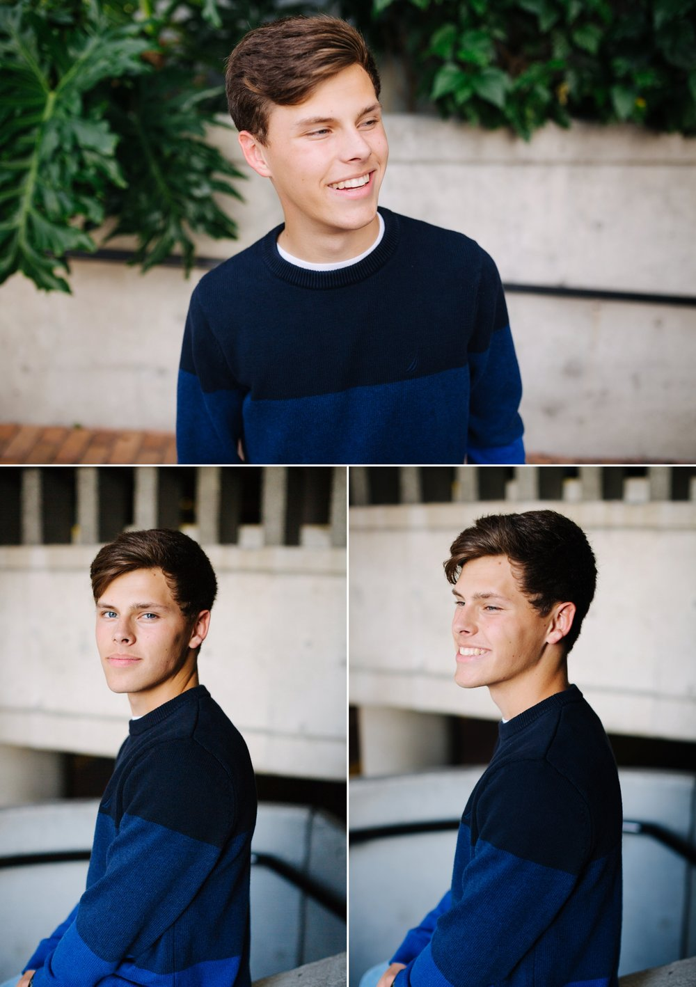 downtown tampa senior session jake and katie photography