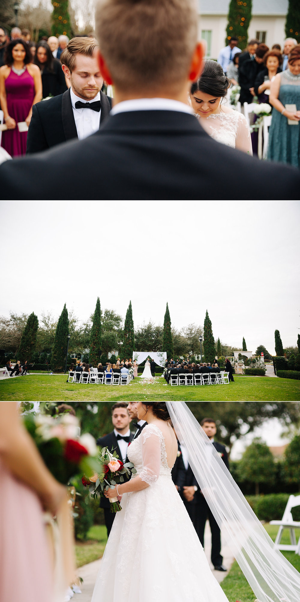 palmetto club wedding tampa wedding photographer ceremony
