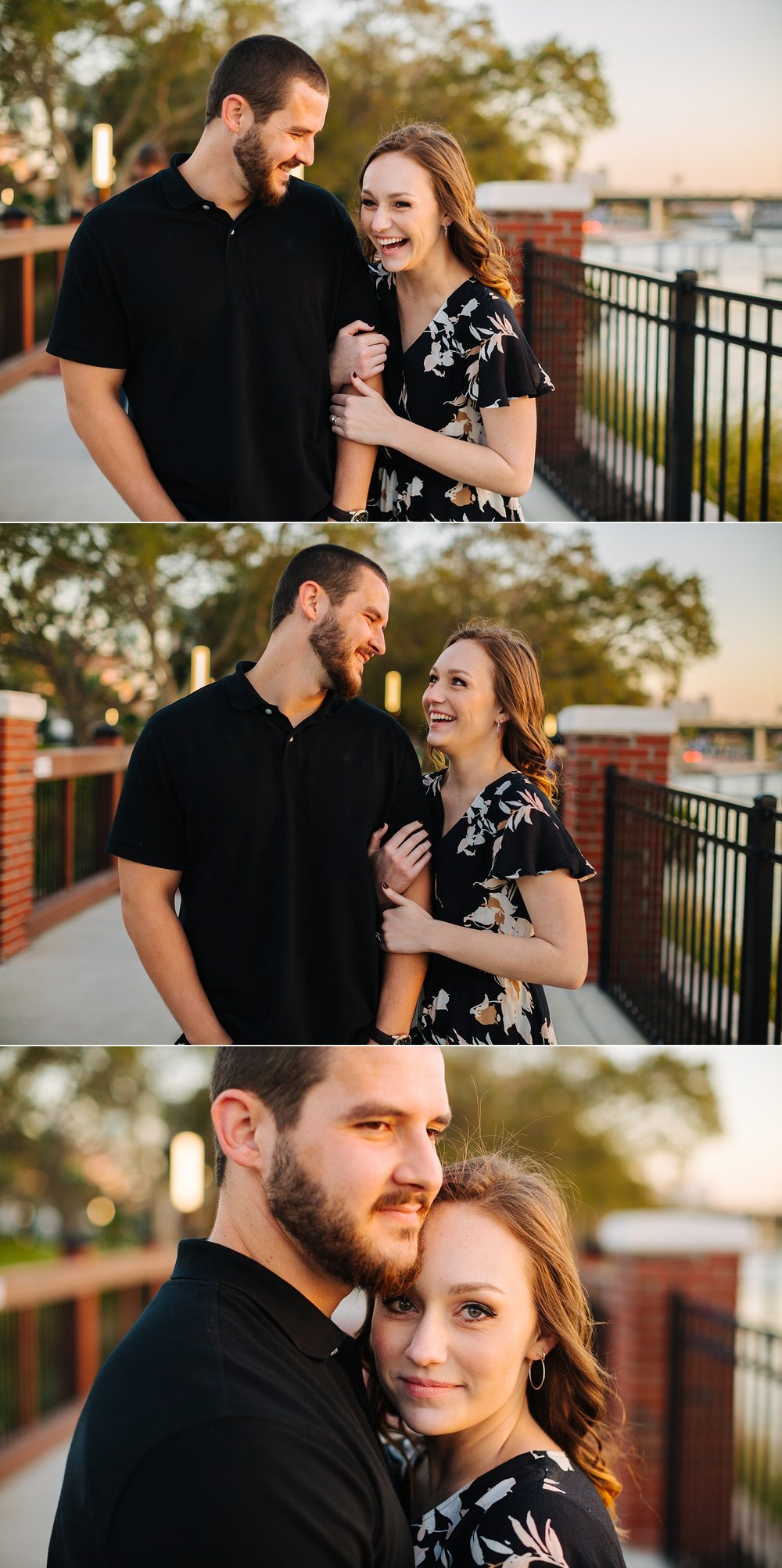 water works park tampa engagement photos