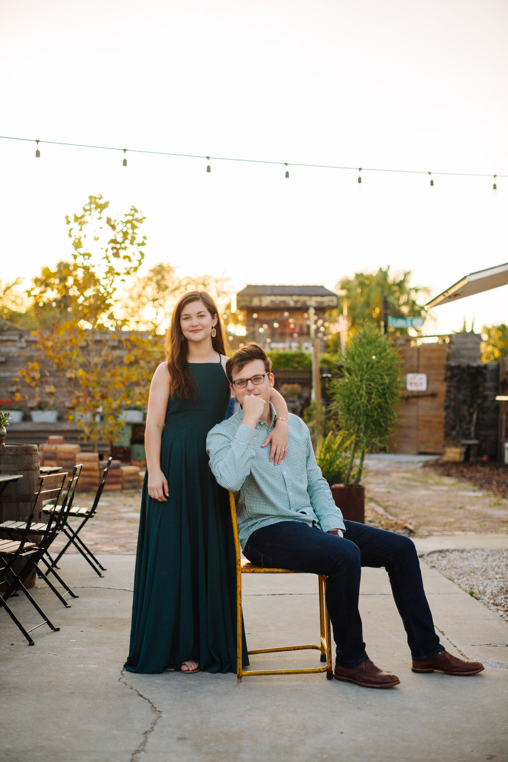 801 E Main engagement photos The Poor Porker engagement photos Jake & Katie Photography