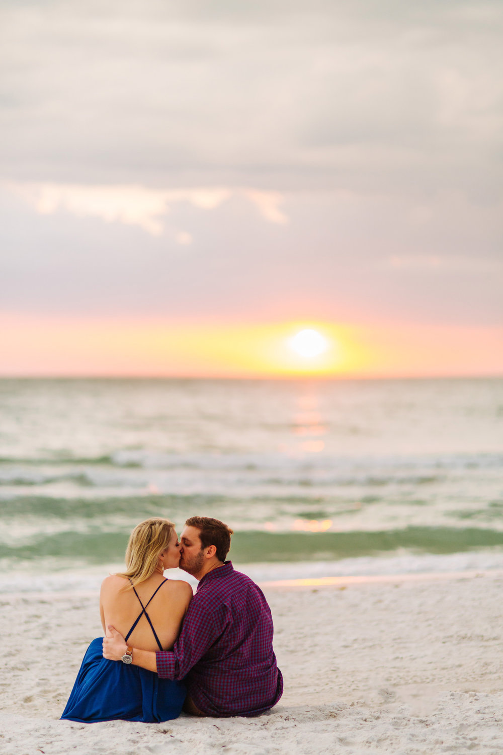 clearwater beach sunset engagement photos-017.jpg