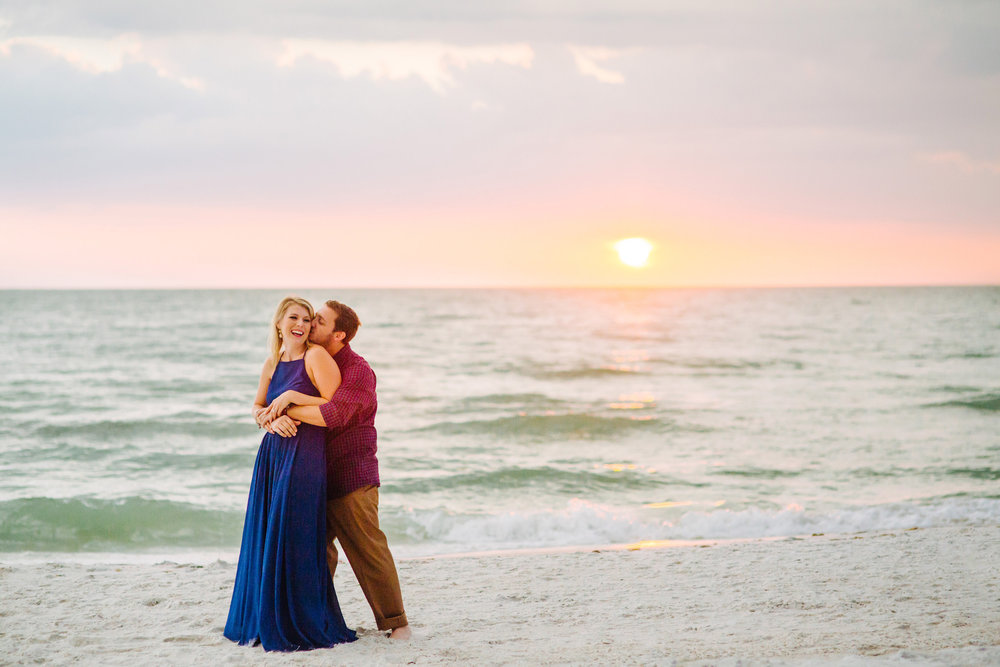 clearwater beach sunset engagement photos-018.jpg
