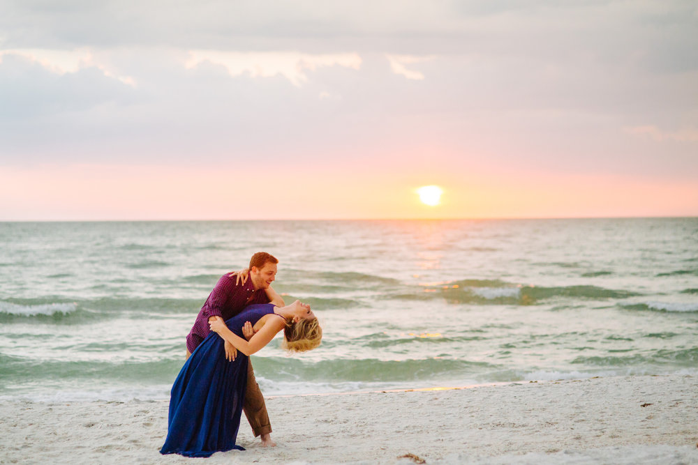 clearwater beach sunset engagement photos-019.jpg
