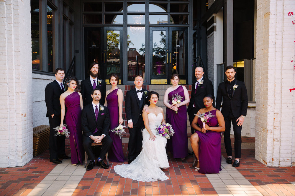 station house st pete wedding