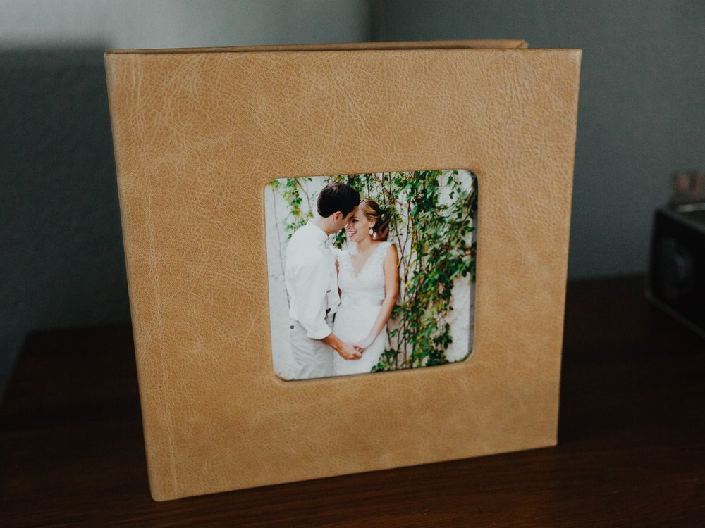 Wedding Album - What good are all of your photos if they just sit in a folder on your computer? Consider a wedding album or prints to display your wedding photos and share that day with your friends and family.BEGINS AT $6008x8