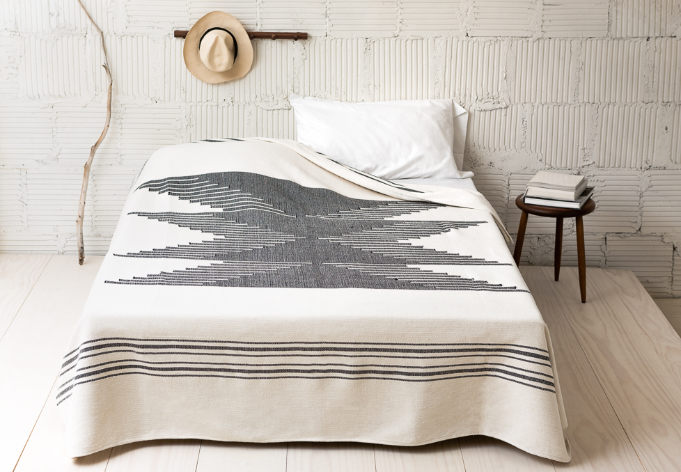 I snatched up the blanket above from Joinery NYC after seeing it in a few lovely spaces including  Almost Makes Perfect's serene bedroom  and  this Brooklyn's apartment's  collected retreat. More on my ever growing wish list below...