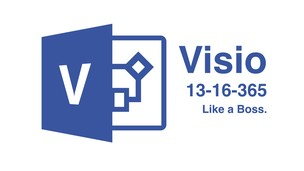 Microsoft Visio 2013/2016/365:  Like a Boss