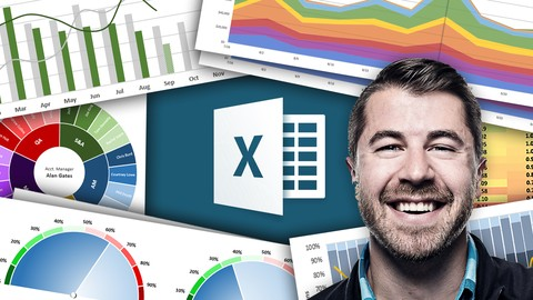 Data Visualization, Excel Charts & Graphs Microsoft Excel     Featuring:    Chris Dutton - Excel Maven