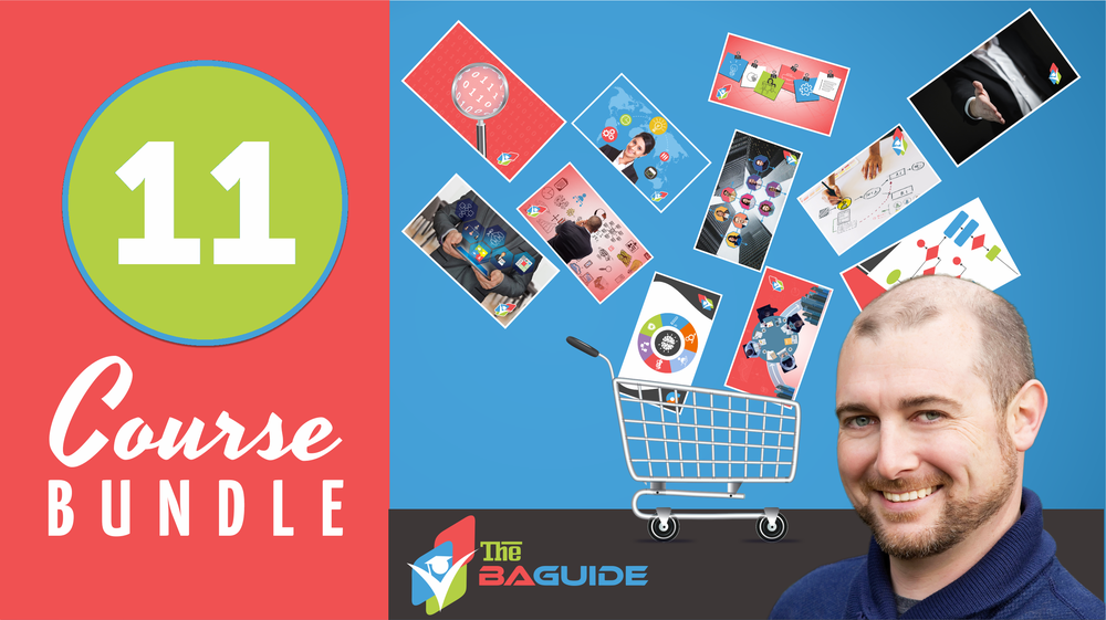 11 Course Bundle   - $97   Enjoy all The BA Guide has to offer