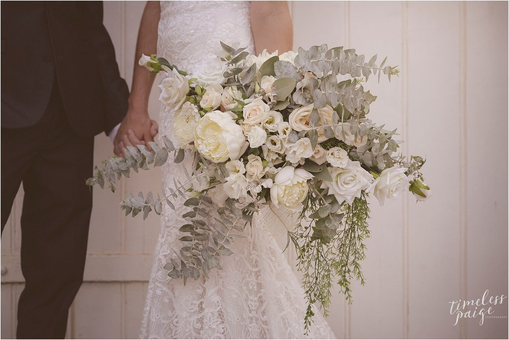 could these bridal florals be any more perfect for the eynesbury homestead and grey box forrest scene...