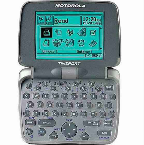 Motorola Two-Way Pager (2002)