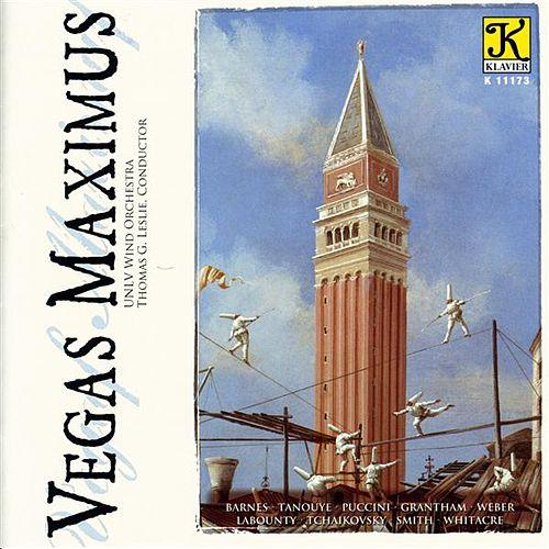 Vegas Maximus - A 50th Anniversary Celebration of the University of Nevada, Las Vegas  Thomas Leslie, UNLV Wind Orchestra Klavier Records, 2008