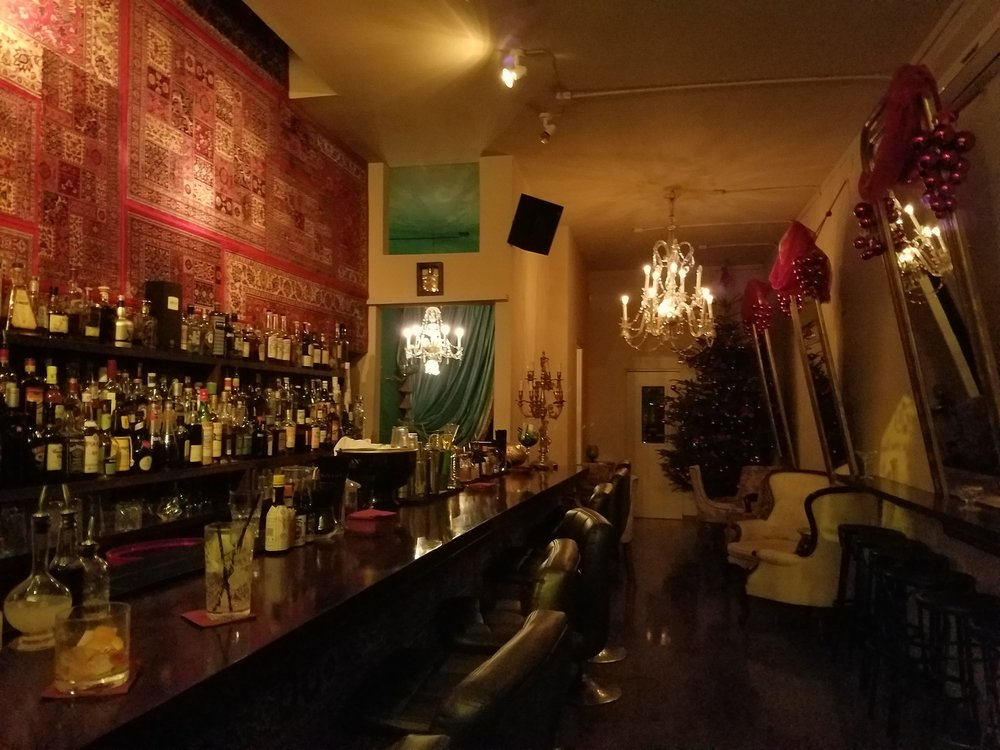 Madame George's intimate venue