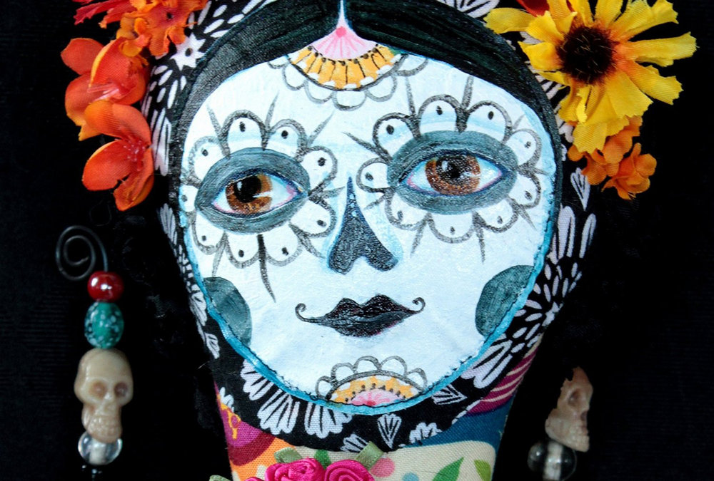 Day of the Dead Catrina (detail)