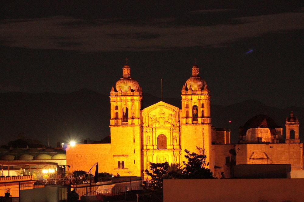 El templo de Santo Domingo