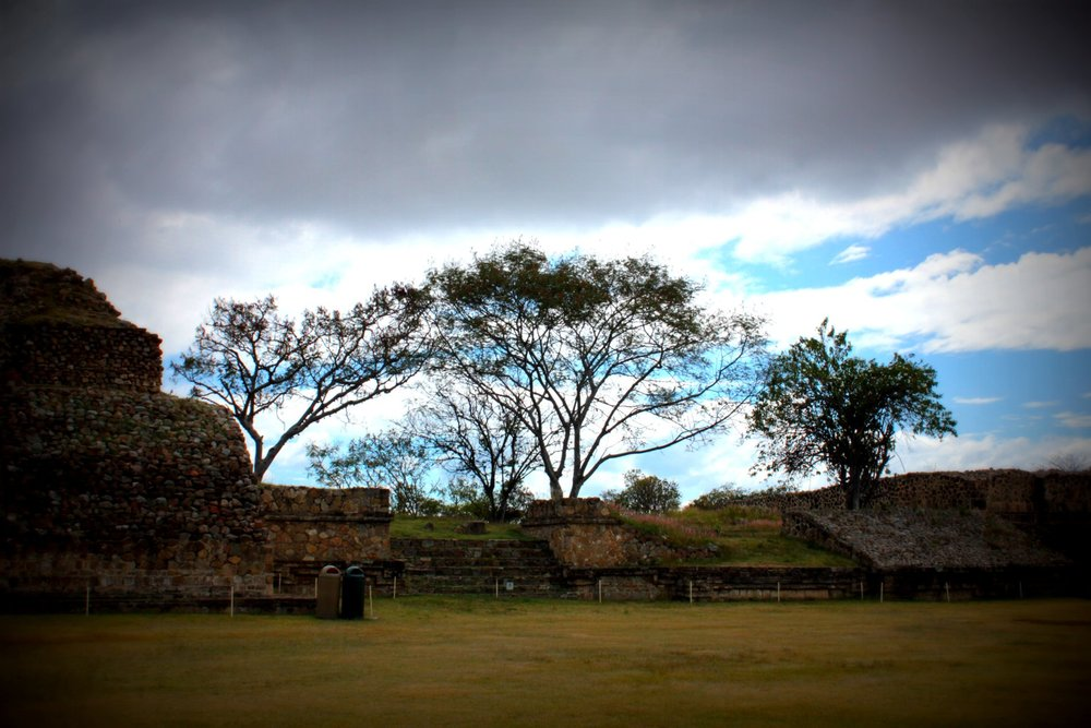 At Monte Alban
