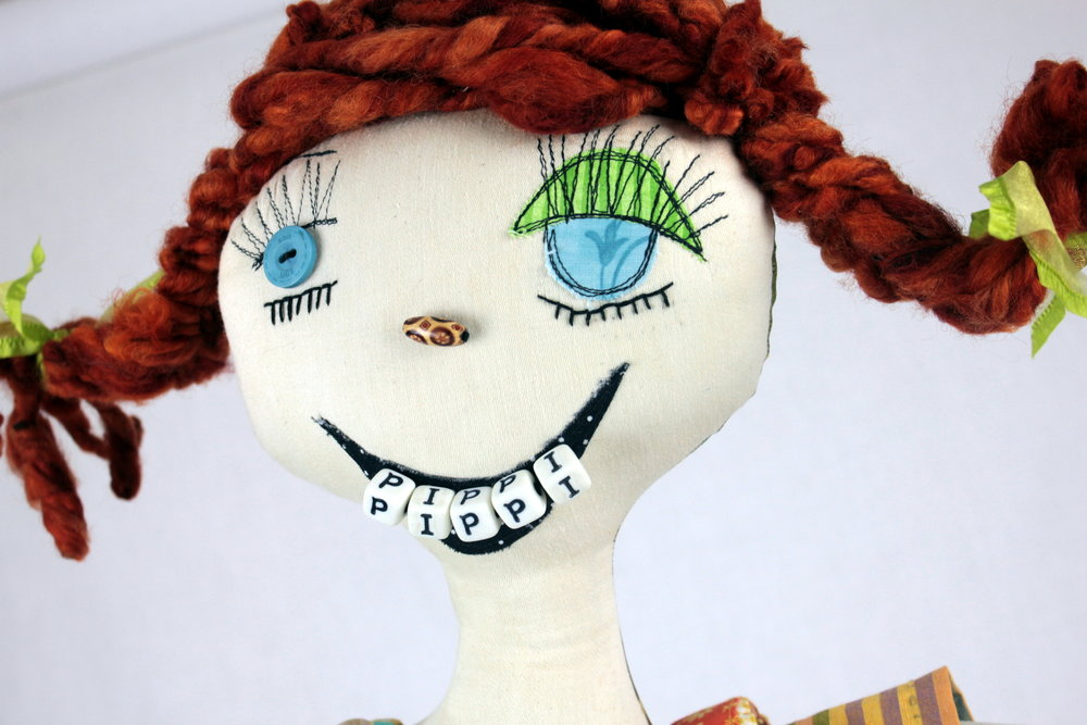 Pippi Longstocking (detail)