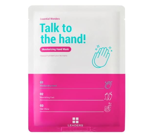 Talk to the hand! Moisturizing hand mask -