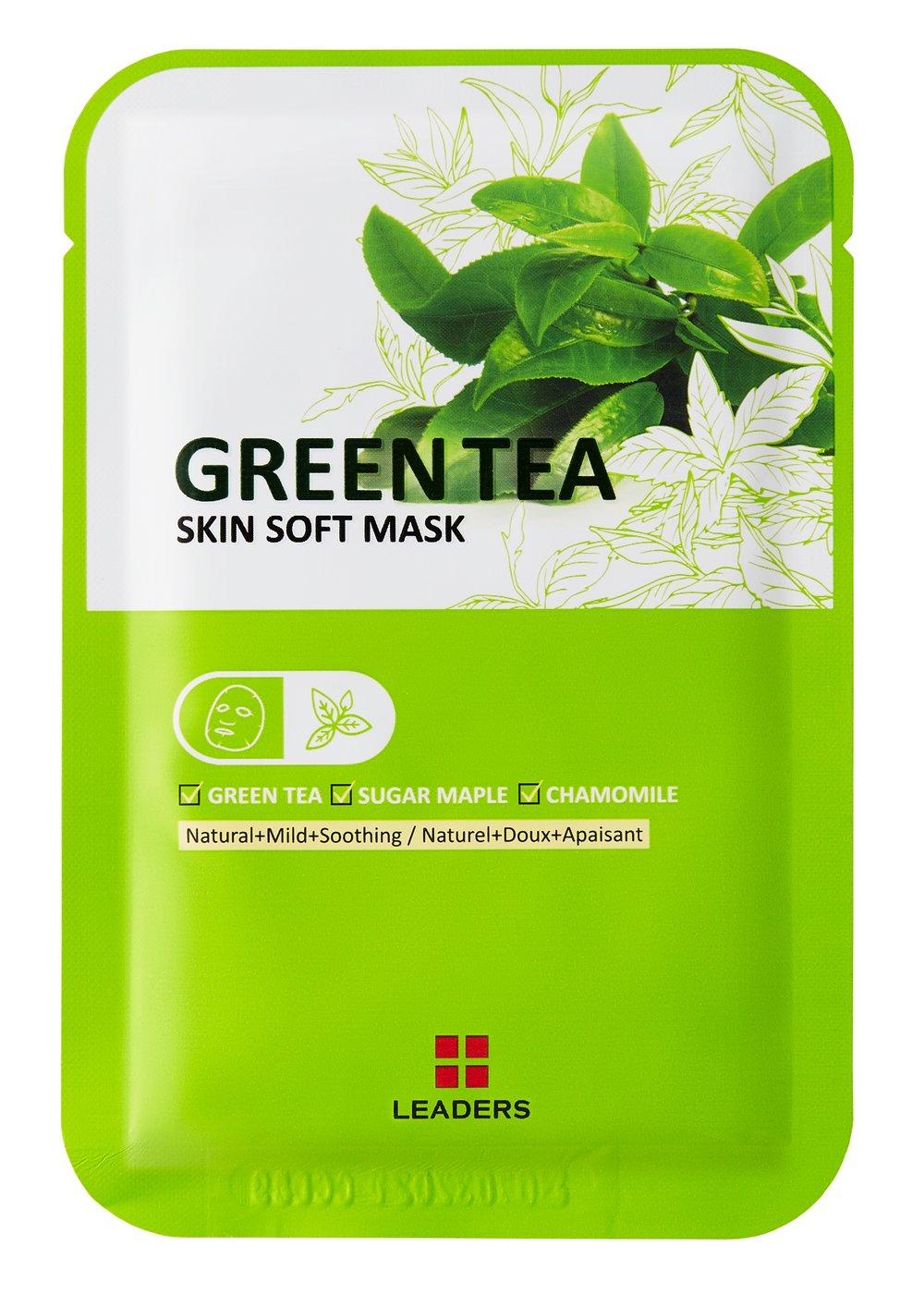 Green Tea Skin Soft Mask -