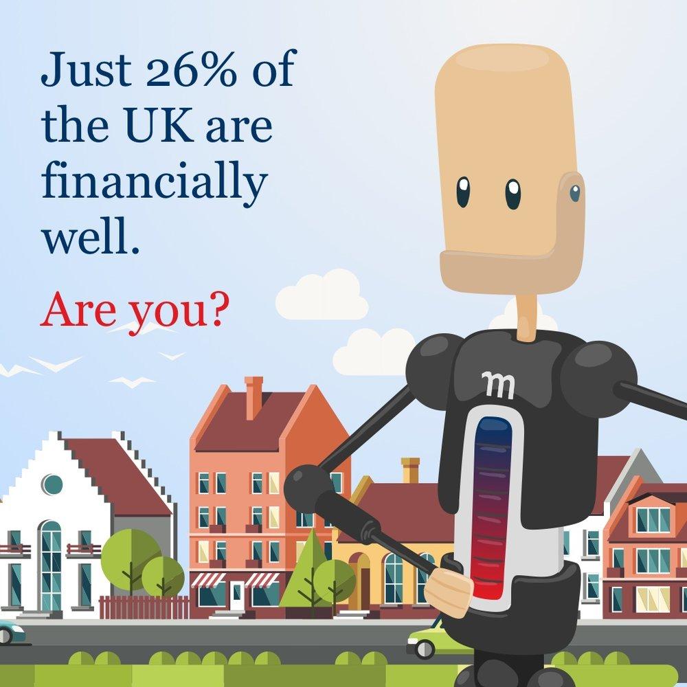 Momentum UK's Financial Wellness tool's wellbot