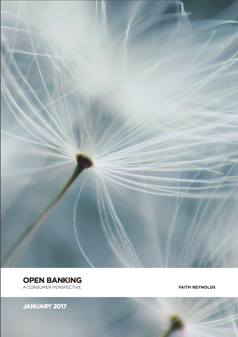 Open Banking – A consumer Perspective