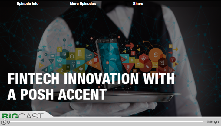 Fintech Innovation with a posh accent