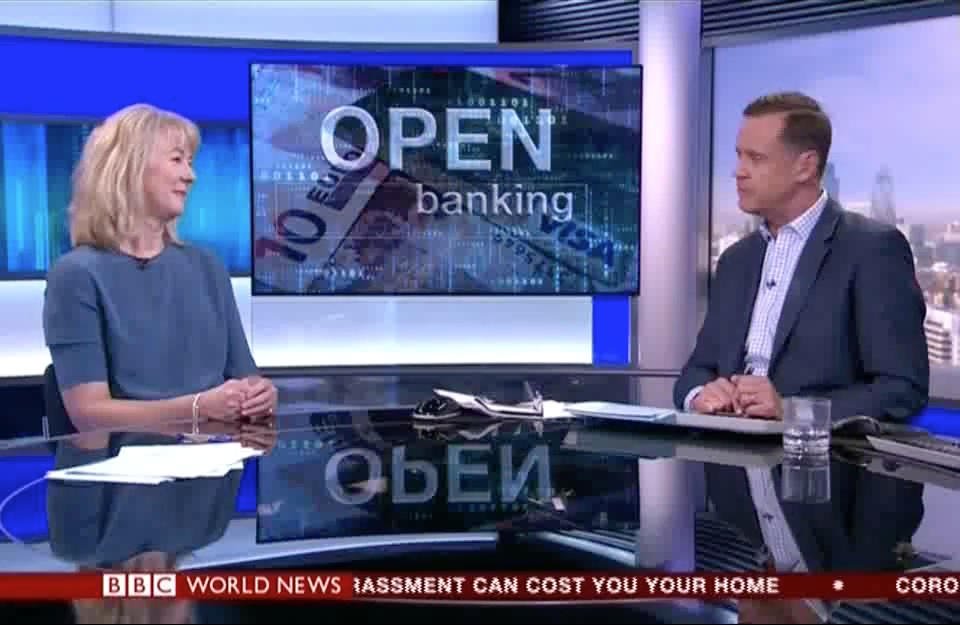 BBC World News – Sam Seaton Open Banking