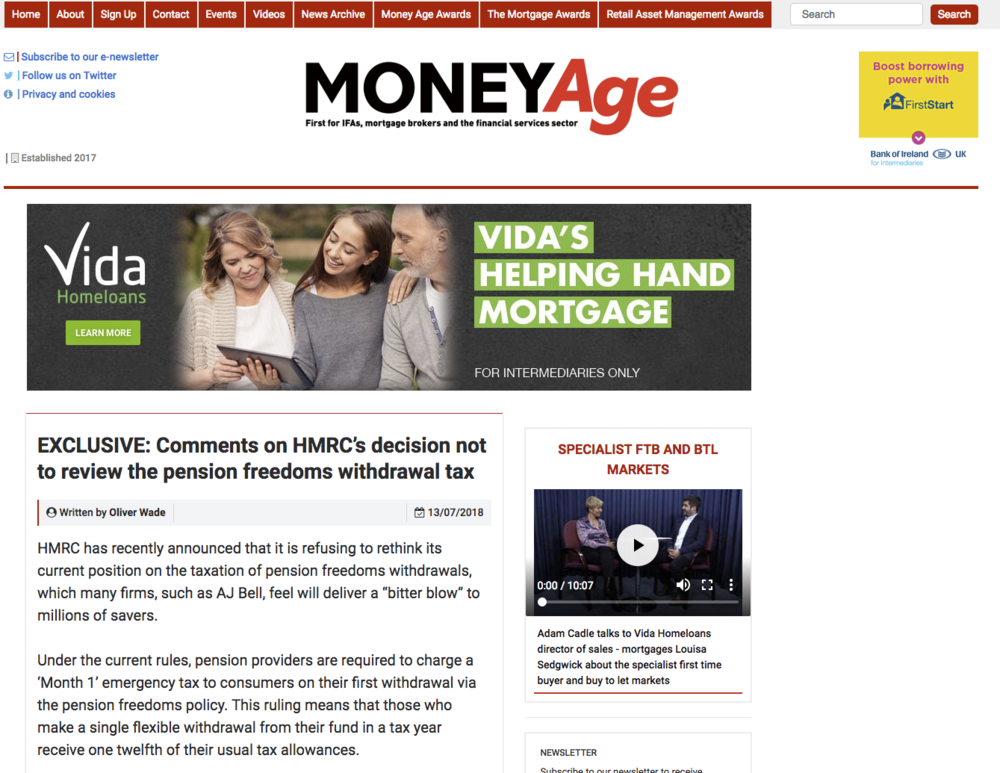 MoneyAge article HMRC
