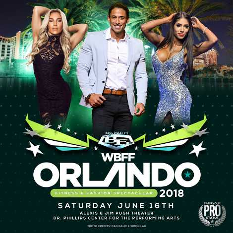 WBFF Orlando Stage Photography