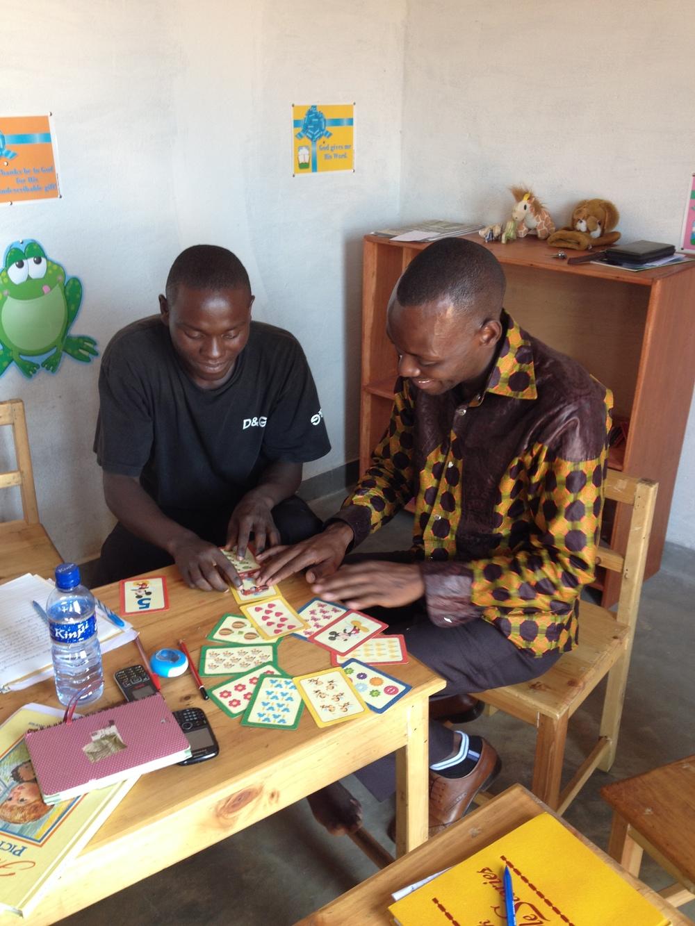 Early Childhood Teacher Training.Kabezi, Burundi.