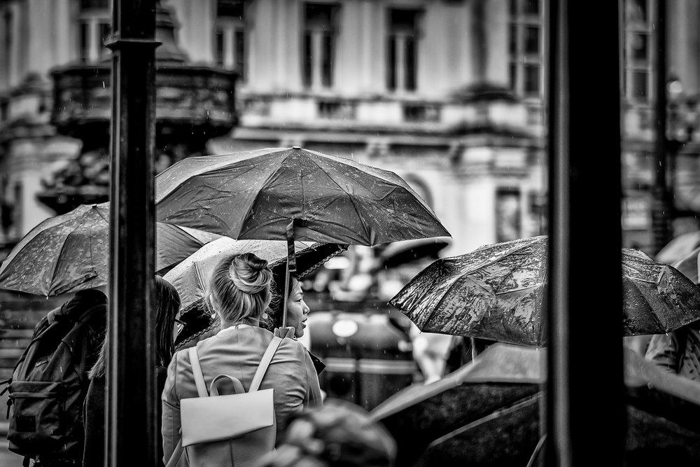 Face In The Rain
